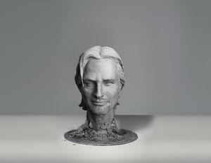 Josh Holloway sculpture - Sissy Piana