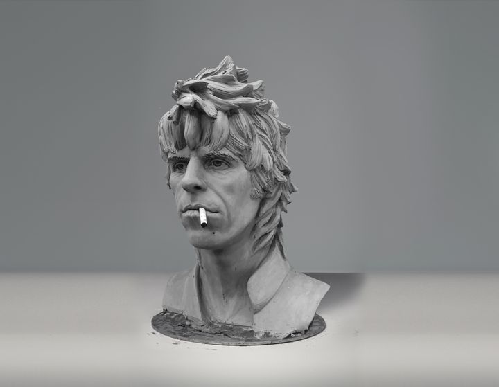 Keith Richards sculpture (younger) - Sissy Piana