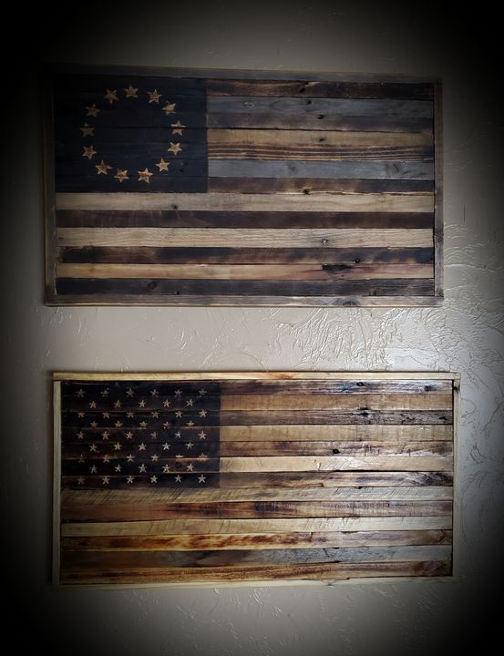 Wood Flag - Perfectly Imperfect 307