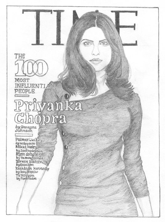Priyanka Chopra - Sellu Pencil Darwings