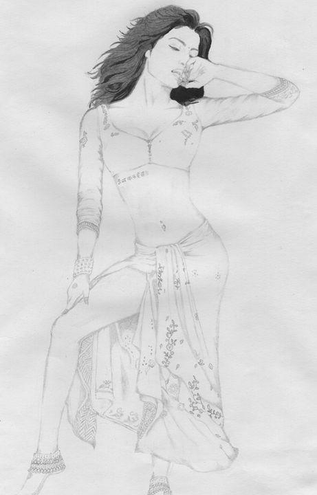 Priyanka Chopra - Sellu Pencil Darwings