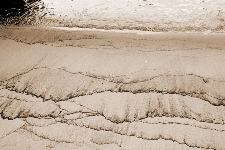 Patterns in the sand - BJames Photography