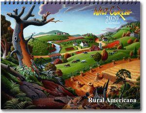 2020 Rural Americana Wall Calendar