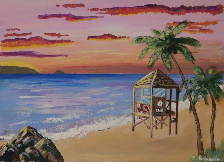 The lifeguard tower - Silvana Bennardo