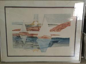 Harbor Sails, by Martin Tobias