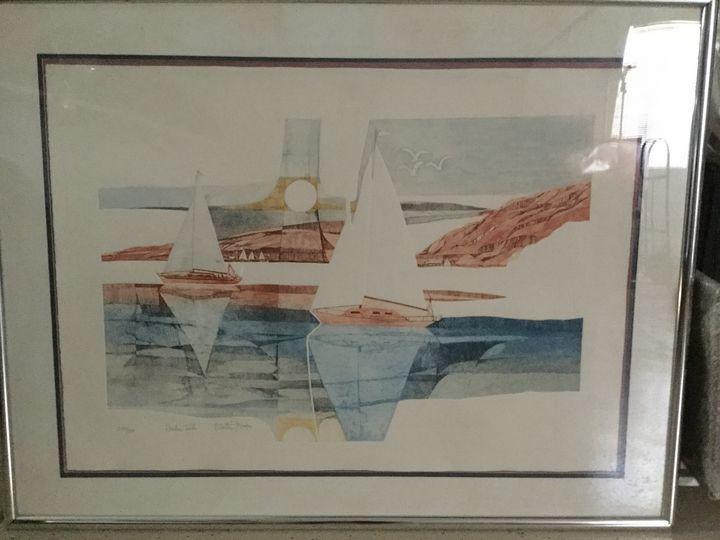Harbor Sails, by Martin Tobias - Michael McCaslin