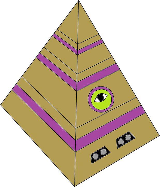 The pyramidcube - wolfduckstudios
