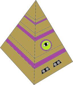 The pyramidcube