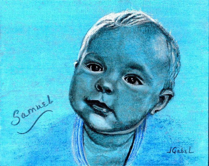 Samuel Blue Boy - lgabel - the art of encouragement