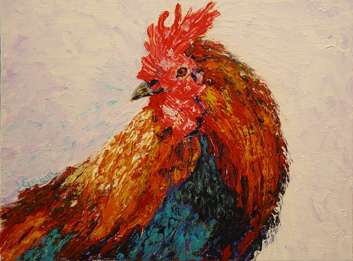 Rooster 1 - lgabel - the art of encouragement