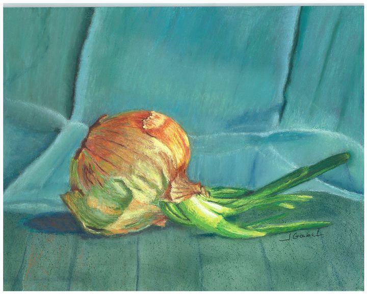 Turquoise Onion - lgabel - the art of encouragement