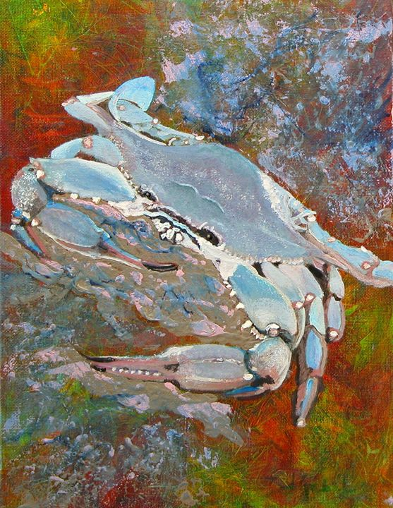 Austin Blue Crab - lgabel - the art of encouragement