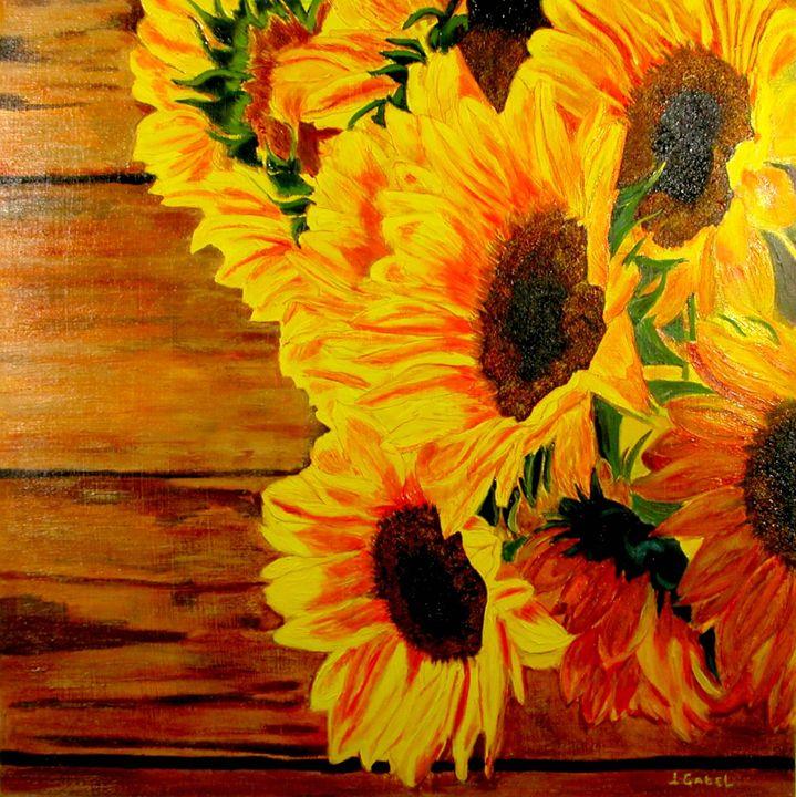 Sunflower 1 - lgabel - the art of encouragement