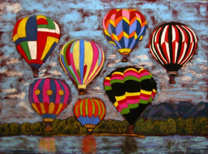 Balloon Family - lgabel - the art of encouragement