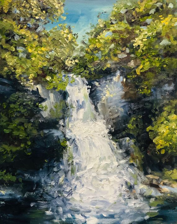 Bushkill Falls, PA - Elise Weber