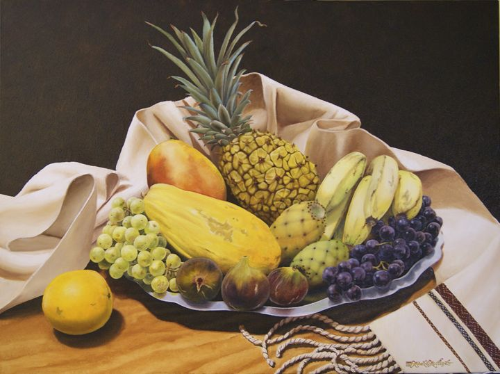 Bodegon de Fruta - Robert C. Murray II