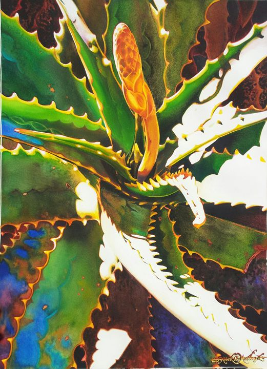 Savila Brotando-Watercolor 55 x 75cm - Robert C. Murray II