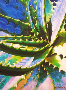 Savila Azul 55 x 75 cm - Robert C. Murray II