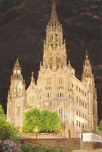 """""""Catedral de Arucas"""" Por la Noche - Robert C. Murray II"""