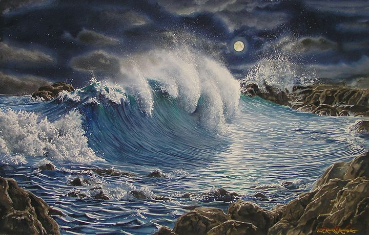 Nubes del Mar-Noche - Robert C. Murray II