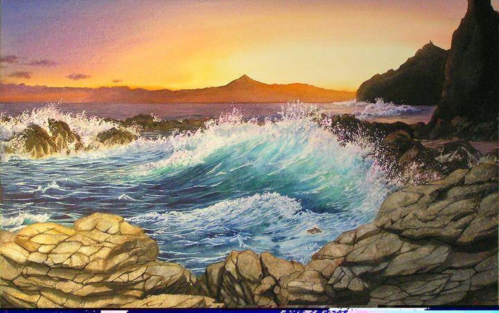 Amanecer en La Gomera - Robert C. Murray II