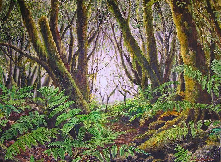 Bosque con Helechos - Robert C. Murray II
