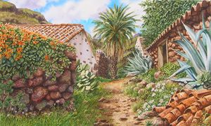 Casitas con Tejas - Robert C. Murray II
