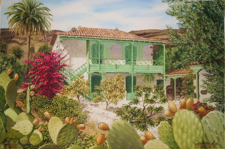 Casita en Santa Lucia de Tirajana - Robert C. Murray II