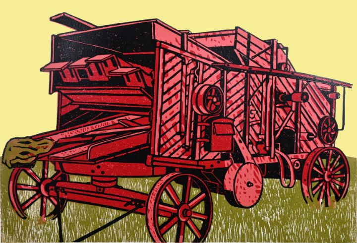 Red Thresher - Colin King