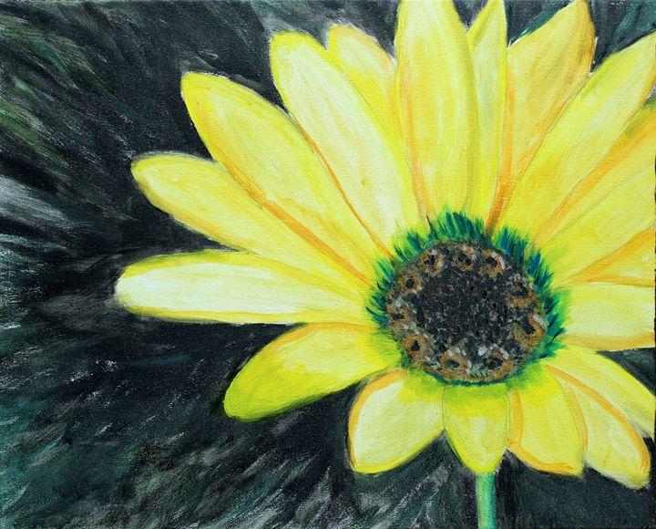 Yellow Bloom - Sheaffer Art Gallery