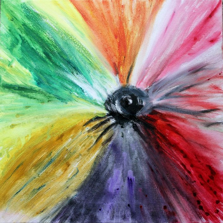 Rainbow Bloom - Sheaffer Art Gallery