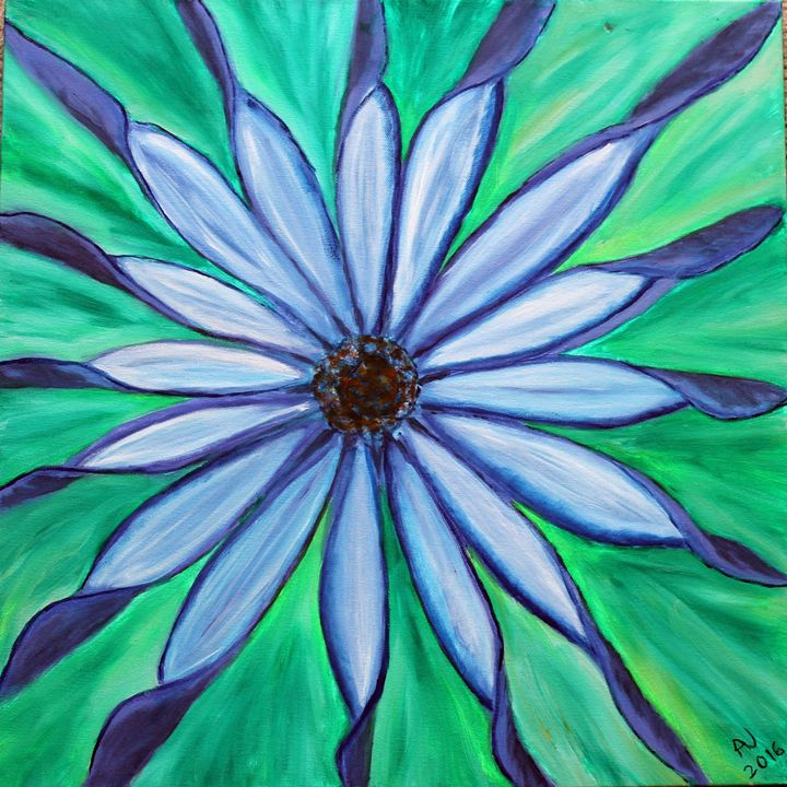 Pinwheel Flower - Sheaffer Art Gallery