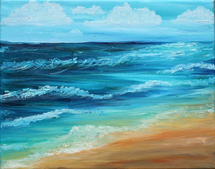 Ocean Waves - Sheaffer Art Gallery