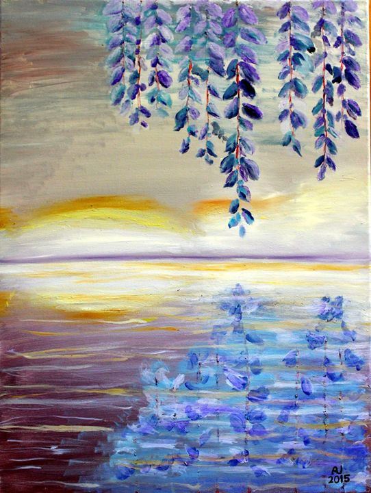 Lilac Reflections - Sheaffer Art Gallery