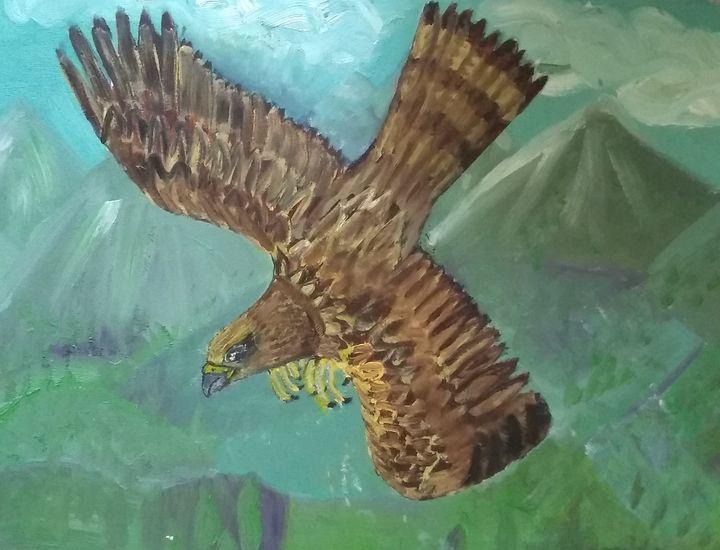 Golden Eagle, bird of prey - Art creations
