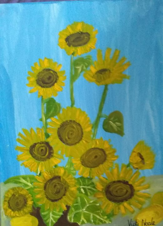Sunflowers - Art creations