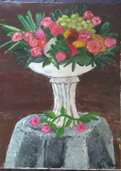 Centrepiece flowers - Art creations