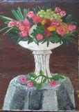 Flowers  centrepiece still life