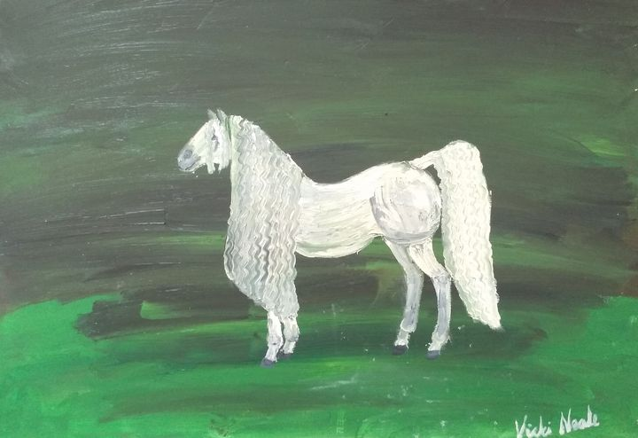 Lippizaner horse - Art creations