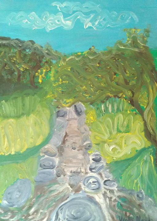 Stony river - Art creations
