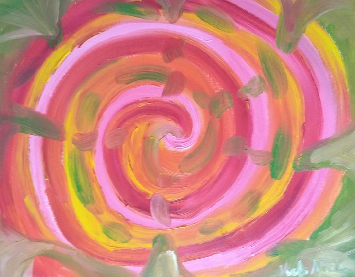 Fruity calypso swirl - Art creations