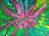 Bold, bright, colours, enthusiastic