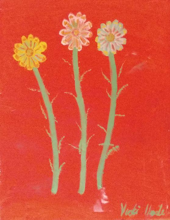 Colourful gerberas - Art creations