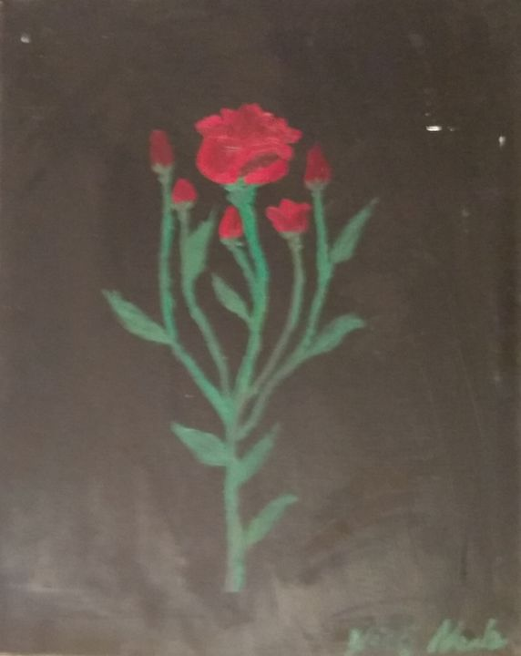 Roses in the dark - Art creations