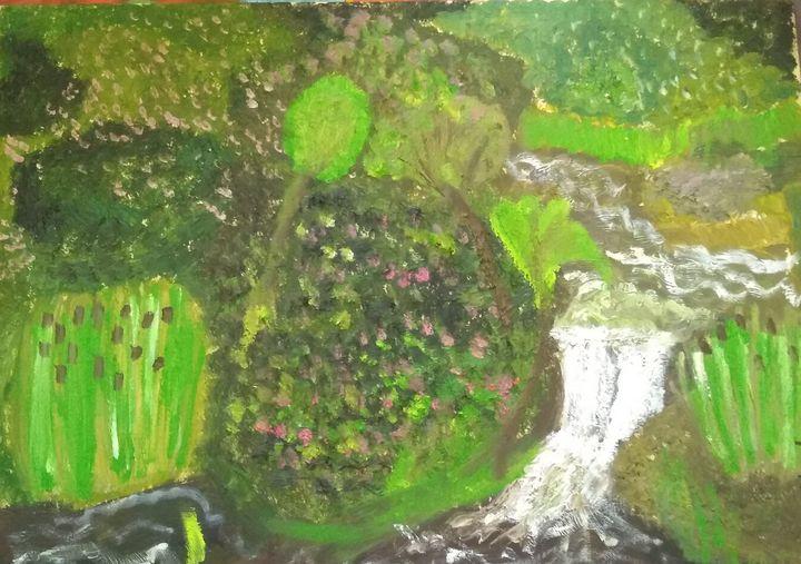 River garden - Art creations