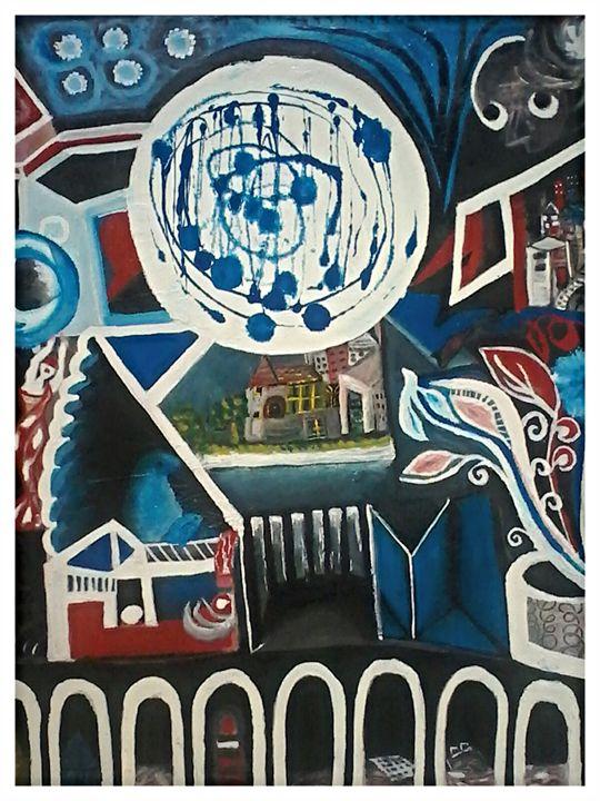 Abstrait - Artds DS Souad Dehhani