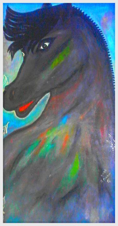 Le cheval - Artds DS Souad Dehhani