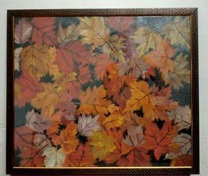 Maple leaves - Enamel painting