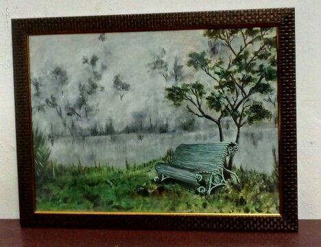 Misty landscape - Panchajanyam