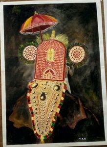 Decorated elephant - Indian festival
